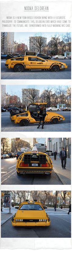 DeLorean Car Becomes The Taxi Of The Future