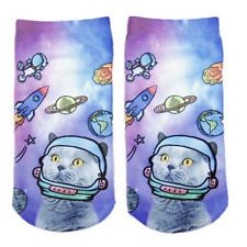 New 3D Print Cute Animal Colorful Low Cut Ankle Socks Harajuku Style Unisex Gift