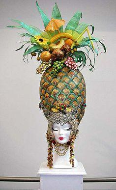 Pantomime Dame's Wig |