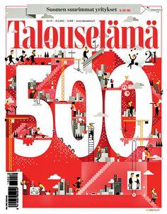 Talouselama #mag #cover #magazine