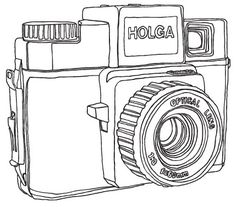 holga line drawing