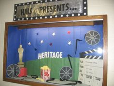 back to school bulletin board  | ... The Learning Games! | Hollywood Themed Back-To-School Bulletin Board