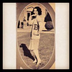 A #Baylor beauty's fashion in 1930! #beauty #tbt #throwbackthursday Via @bayloruniversity on Instagram