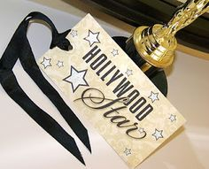 "Hollywood parties are known for their terrific ""swag"" bags! So when gathering all those goodies to give to guests at your Hollywood Glamour Party, make sure to print out these free printable tags for the true Hollywood star treatment! Party Printables, Free Printable Invitations, Printable Tags, Free Printables, Hollywood Glamour Party, Hollywood Theme, Hollywood Wedding, Vintage Hollywood, Hollywood Night"