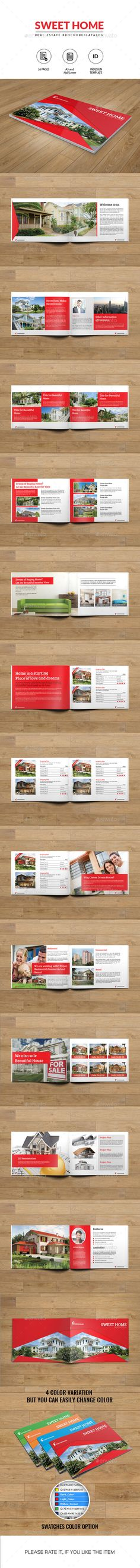 Real Estate Brochure-A5 and Half Letter Size - Catalogs Brochures