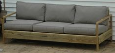 84' patio sofa | Do It Yourself Home Projects from Ana White
