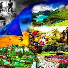 Paradise restored! Visit jw.org for more information.