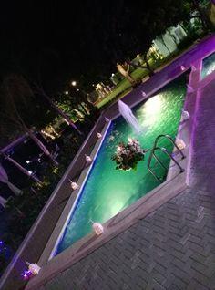 Hermosa nuestra piscina