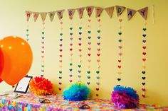 Rainbow Birthday Party Ideas | Photo 1 of 47 | Catch My Party