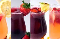 Sangrias❣ As melhores combinações de vinhos e frutas que você já viu.