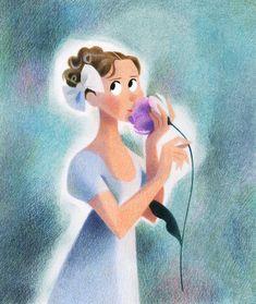 Genevieve Godbout illustration #emma #janeausten