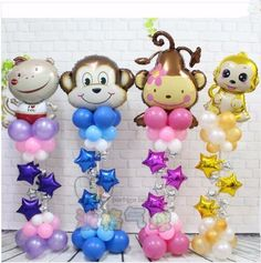 Ideas Birthday Images Balloons Parties Decorations For 2019 Ballon Decorations, Balloon Centerpieces, Birthday Party Decorations, Parties Decorations, Baby Shower Balloons, Birthday Balloons, Birthday Greetings For Men, Birthday Wishes, Birthday Invitations