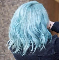 14 Pastel Hair Colors That Will Make You Consider Dying Your Hair - Pastel Hair. - 14 Pastel Hair Colors That Will Make You Consider Dying Your Hair - Dying Your Hair, Dye My Hair, Hair Dying Ideas, Cool Hair Dyed, Hair Dye Colors, Cool Hair Color, Pastel Hair Colors, Hair Color Blue, Colorful Hair