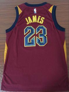 0c4bde19d Men s 23 Lebron James Jersey Red Cleveland Cavaliers Authentic Fanatics  version Mike Bibby