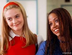 The 33 Fictional Friendships We Wish We Were A Part Of Cher and Dionne, Clueless Stacey Dash, Clueless Fashion, Clueless Outfits, 90s Fashion, Fashion Beauty, Cher Horowitz, Clueless Cher And Dionne, Clueless 1995, Clueless Aesthetic
