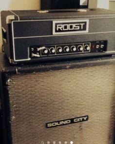 Roost SR 22 100w Head Amp (no Hiwatt, Sound City, Marshall) 1974 in Altona - Hamburg Ottensen | Musikinstrumente und Zubehör gebraucht kaufen | eBay Kleinanzeigen