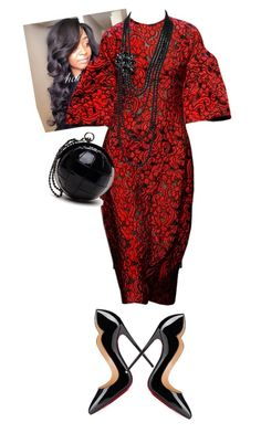 """""""TBT Holy Convocation 16'"""" by cogic-fashion on Polyvore featuring Raey, Kate Spade, Dolce&Gabbana, Chanel and Christian Louboutin"""