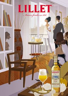 Ladies of LILLETPlease enjoy Lillet responsibly.©2013 Imported by William Grant & Sons Inc., New York, NY. LLT103411