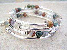 Memory+Wire+Bracelet+Bohemian+Bracelet++by+FeralsPassageGifts,+$21.00
