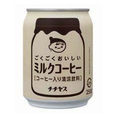 chichiyasu milk coffee... truthfully, this stuff is way too sweet for me.:
