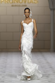 Glamorous, classy, and timeless, we can& stop staring at these Pronovias wedding dresses, they are perfect for a gorgeous ballroom wedding. Take a look and happy pinning! Bridal Dresses 2015, Bridal Gowns, Wedding Gowns, Bridal 2015, Ballroom Wedding, Bridal Show, Bridal Style, Pronovias Wedding Dress, Mod Wedding