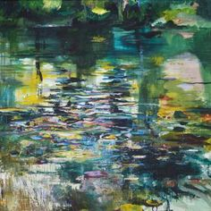 "Saatchi Art Artist Lies Goemans; Painting, ""What Lies Beneath 10"" #art"