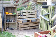 how to build a outdoor play kitchen - Google-Suche