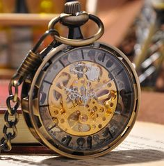 Bronze Pocket Watch                                                                                                                                                                                 Más