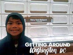 Getting around Washington DC with Kids