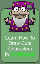 step-by-step directions on how to draw cartoons... lij should see this!