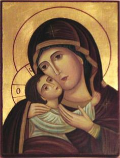 Lebanese Icon of Mary and Christ.