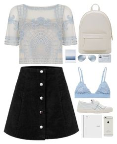 Untitled #2707 by wtf-towear on Polyvore featuring polyvore fashion style Temperley London La Perla Marc Jacobs PB 0110 Ray-Ban clothing
