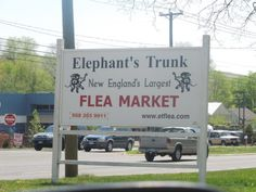 Elephant's Trunk Flea Market is located in New Milford.