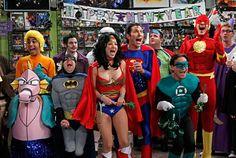 Big Bang Theory - The Justice League