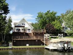 Wixom Lake Waterfront!!  1321 McKimmy, Beaverton, MI.