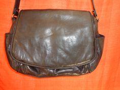 Vintage Handtaschen - Tasche*Leder*Vintage*dunkelbraun*bag* - ein Designerstück von SweetSweetVintage bei DaWanda