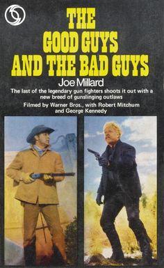 Western Bad Guys   The Good Guys and the Bad Guys by Joe Millard (New York, Award Books ...