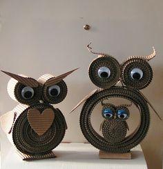 Bedstes Blog: UGLER Paper Quilling Designs, Quilling Art, Creative Kids, Creative Crafts, Bird Crafts, Paper Crafts, Design Origami, Architecture Drawing Art, Crafts For Kids