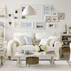 16 Truly Amazing Shabby Chic Interior Design Ideas | Modern shabby ...
