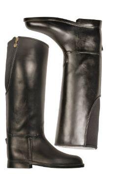 dav Ladies Equestrian Zip Back Rain Boots - $98