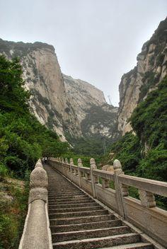 #Hua_Shan_Mountain #Hua_Shan_China
