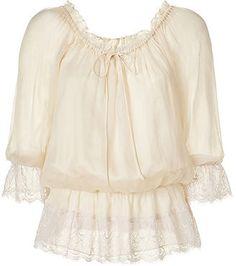 ShopStyle: BAILEY 44 Vanilla Peasant Top