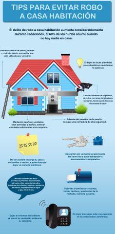 #Ceprotips Consejos para evitar ser víctima de robo en su casa