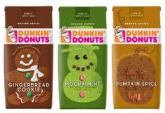 FREE sample of Dunkin' Donuts Gingerbread Cookie coffee!