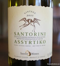 SantoWines Santorini Assyrtiko 2011 - The Antithesis Of A Boring White. Add some (Greek) character to your white wine rotation.  http://www.reversewinesnob.com/2013/09/santowines-santorini-assyrtiko.html