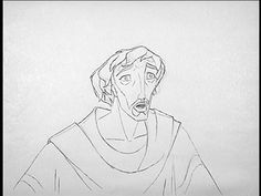 EXCLUSIVE: James Baxter/ Moses from Prince of Egypt pencil test. Video by Jamaal Bradley.