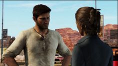 Uncharted 3: Drake's Deception - Nate and Elena