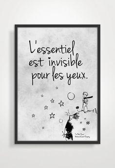Le Petit Prince Quote Citation