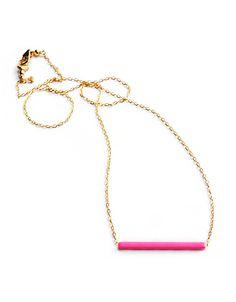 Minoux Jewelry Skyline Neon Necklace