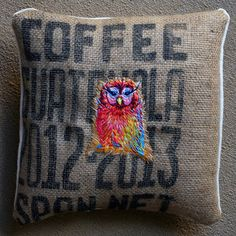 Danielle Clough - Embroidery: Owl be there for you
